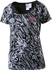 ADIDAS Damen T-Shirt »Kinesics AOP«