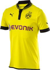 PUMA Herren T-Shirt &raquo;BVB Home Shirt Replica Wit&laquo;