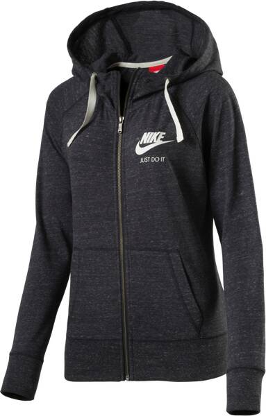 nike damen kapuzen sweatjacke gym vintage fz hoodie im. Black Bedroom Furniture Sets. Home Design Ideas