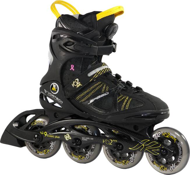 k2 damen inline skates vo2 max 90 speed boa w im. Black Bedroom Furniture Sets. Home Design Ideas