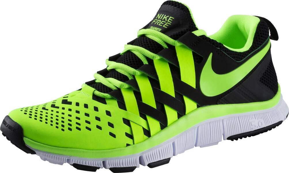 Nike Free 5.0 Herren Schwarz Gelb