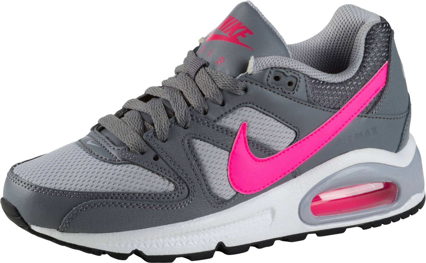 Nike Air Max Command Herren Sale Black Silver Mens Free 3.0